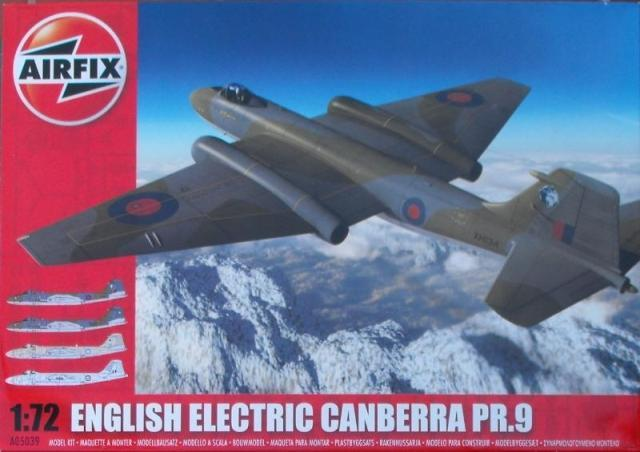 Out of print product! AIRFIX KIT ENGLISH ELECTRIC CANBERRA PR.9 1:72 05039