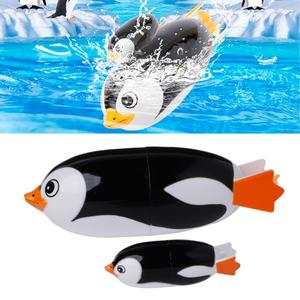 HBB Penguin Bath Toy Animal Swiming Baby Educational Toy