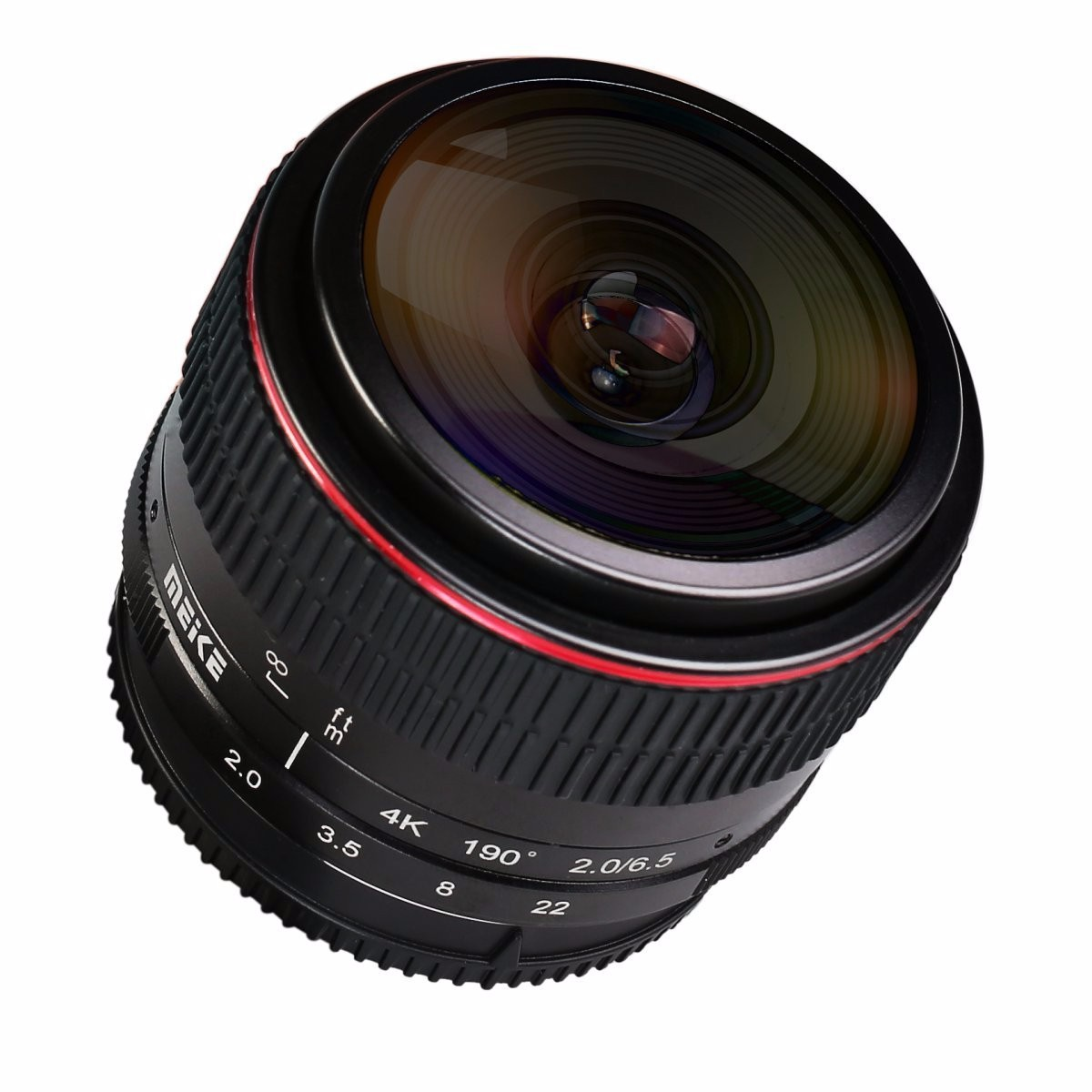 MEIKE MK-6.5mm F2.0 Fisheye Lens for Panasonic/Olympus Mirrorless MFT M4/3 Lens Camera meike 12mm f 2 8 wide angle fixed lens with removeable hood for panasonic olympus mirrorless camera mft m4 3 mount with aps c