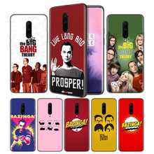 The Big Bang Theory Pattern Soft Black Silicone Case Cover for OnePlus 6 6T 7 Pro 5G Ultra-thin TPU Phone Back Protective