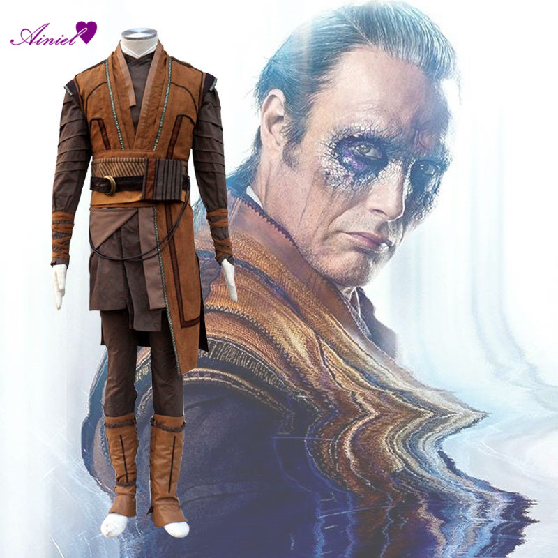 Ainiel Cosplay Doctor Strange Kaecilius Costumes Customize Full Set For Men CS378