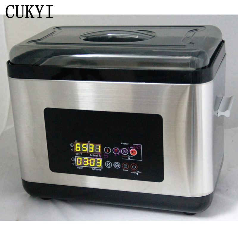 CUKYI Precision temperature control elements of food cooking high-grade 6L low-temperature slow cooker цена