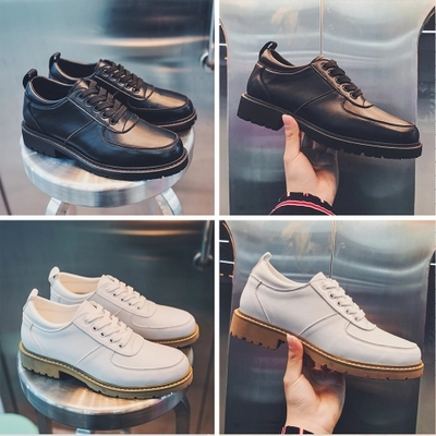 2018 spring men's shoes new low cut shoes thick soled