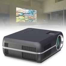 4200LM 1080P видео домашний кинотеатр светодиодный HD видео проектор со стерео объемным двойным рожком и 150 дюймовым большим экраном проекция