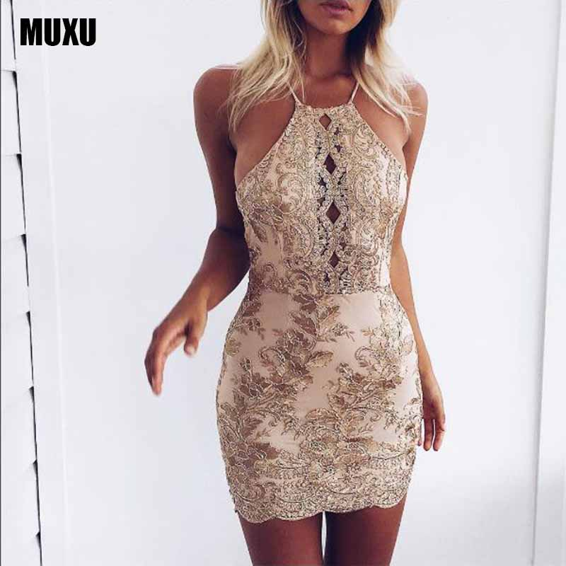 MUXU summer backless bodycon sexy plus size womens clothing embroidery clothes women women dresses free shipping lady dresses in Dresses from Women 39 s Clothing
