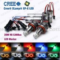 New 12V 24V 20W LED Marker Car Angel Eyes Bulb For BMW E92 E93 E60 E82
