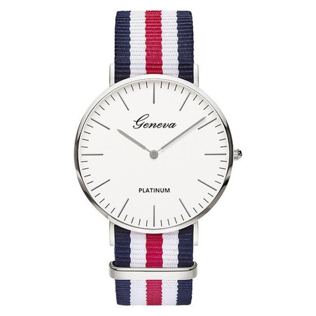 relogio feminino Dames casual Quartz Bear horloge heren dames Nylon - Herenhorloges - Foto 2