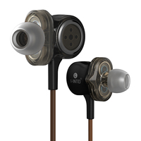 I INTO I8 HIFI Stereo Dynamic Earphone 3 Unit Drive HI FI Bass Earbuds Pop Rock