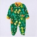 2016 Pieces Primavera Outono Polar KidsTales Bebê Recém-nascido Roupas Romper Do Bebê Da Menina do Menino Roupas de Bebê Pijama