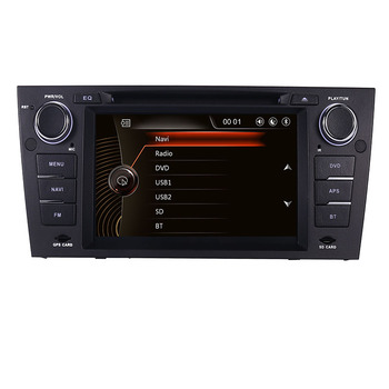In stock 7 Android 10 Car DVD Player for BMW E90 E91 E92 With 3G GPS Bluetooth Radio RDS USB SD Canbus Steering Wheel GPS Map image