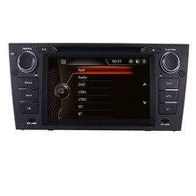 В наличии 7 «два автомобильный dvd-плейер din для BMW E90 E91 E92 с 3g gps Bluetooth Radio RDS USB SD Canbus руль Бесплатная gps карта