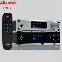 Alientek D8 Full Pure Digital Audio Headphone Amplifier Input USB XMOS Coaxial Optics AUX 80W 2