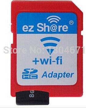 Nuevo envío libre ezshare ez compartir SD micro adaptador wifi inalámbrico 16G 32G de memoria TF tarjeta microSD adaptador wifi tarjeta SD del envío paseo