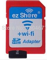 Yeni Ücretsiz kargo ezshare EZ paylaş mikro sd adaptörü wifi kablosuz 16G 32G hafıza kartı TF MicroSD adaptörü WiFi SD kart ücretsiz binmek