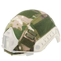 Paintball Airsoft Military Tactical Helmet Accessories Cover For Fast Helmet Cover BJ PJ MH Multicam Typhon