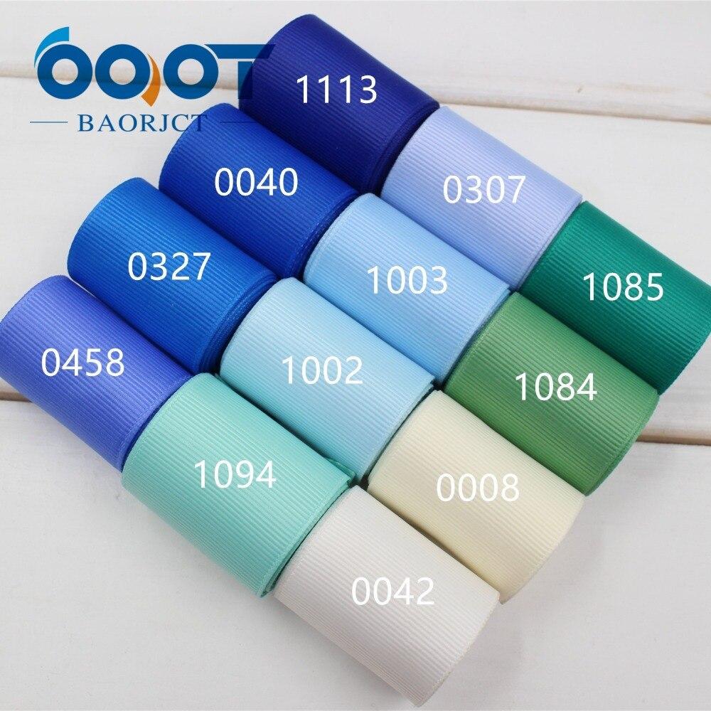OOOT BAORJCT 173211, 38 мм однотонная цветная корсажная лента 10 ярдов, DIY аксессуары для одежды ручной работы, ювелирные изделия и аксессуары