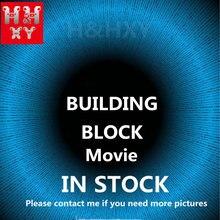 H & HXY в наличии 06066 06083 16001 160002 16004 16005 16006 16008 16009 16012 16016 16050 16060 фильма «, конструкторные блоки, Детские кубики, игрушки