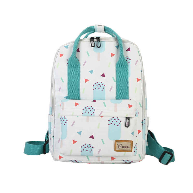 Quality Large Capacity Women Preppy School Bags For Teenagers Girls Waterproof Oxford Travel Bags Laptop Backpack  Pink Mochila