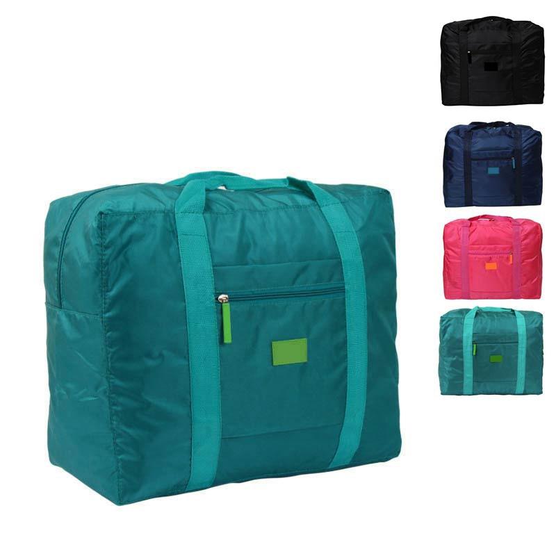 New Waterproof Nylon Folding Foldable Home Travel Package Men Women Storage Bag  MUG88