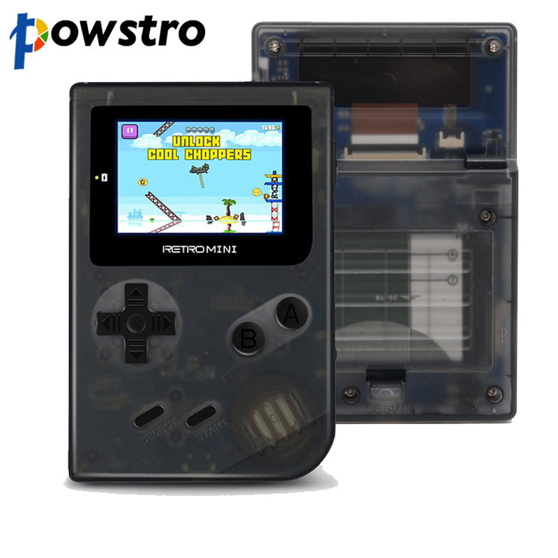 Mini 32 Bit Handheld Game Player With 16GB TF Card Built-in 1077 Classic Games Pocket Game Console Best Gift For Kids