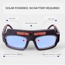 Automatic Dimming Welding Glasses Anti-Glare Goggles Argon Arc Welding Glasses