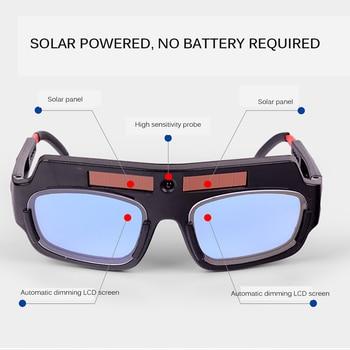 Automatic Dimming Welding Glasses Anti-Glare Goggles Argon Arc Welding Glasses 1