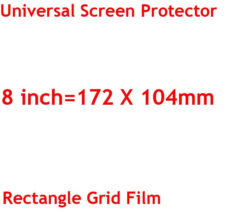 3 sztuk/partia jasne lub matowe uniwersalny ekrany ochronne 5/6/7/8/9/10/11 /12 Cal folie ochronne dla telefonów komórkowych tablet z funkcją telefonu samochód GPS LCD 14
