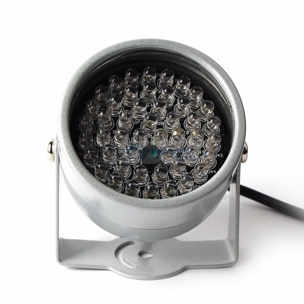 48Pcs IR LED Infrared Illuminator Light IR 20M Night Vision For CCTV Security Surveillance Cameras