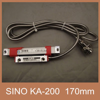 Free Shipping 16mm*16mm Sino KA200 170mm Linear Scale Sino KA 200 170mm grating ruler for lathe machine