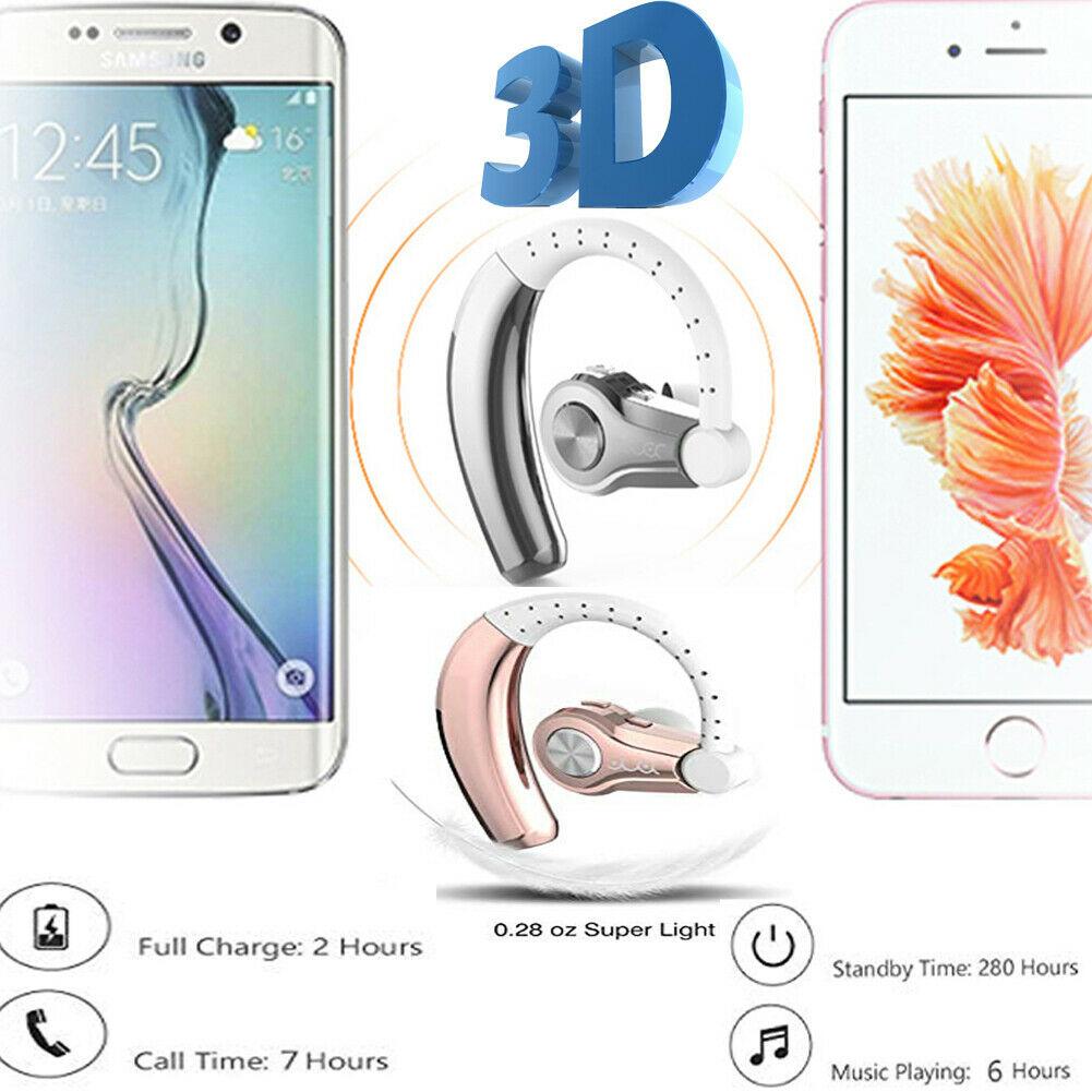 Bluetooth Prompt Earhook Headphones Sports Stereo Wireless Earphone Headset US