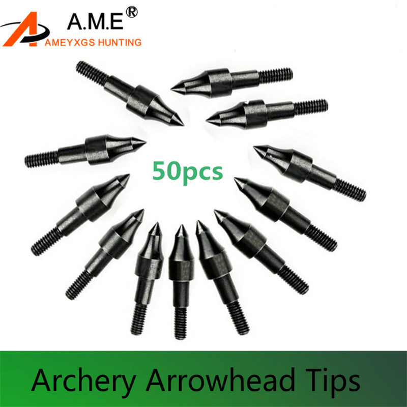 12pack Arrow Heads Tips Steel Broadheads Points Arrow Target Hunting Practice