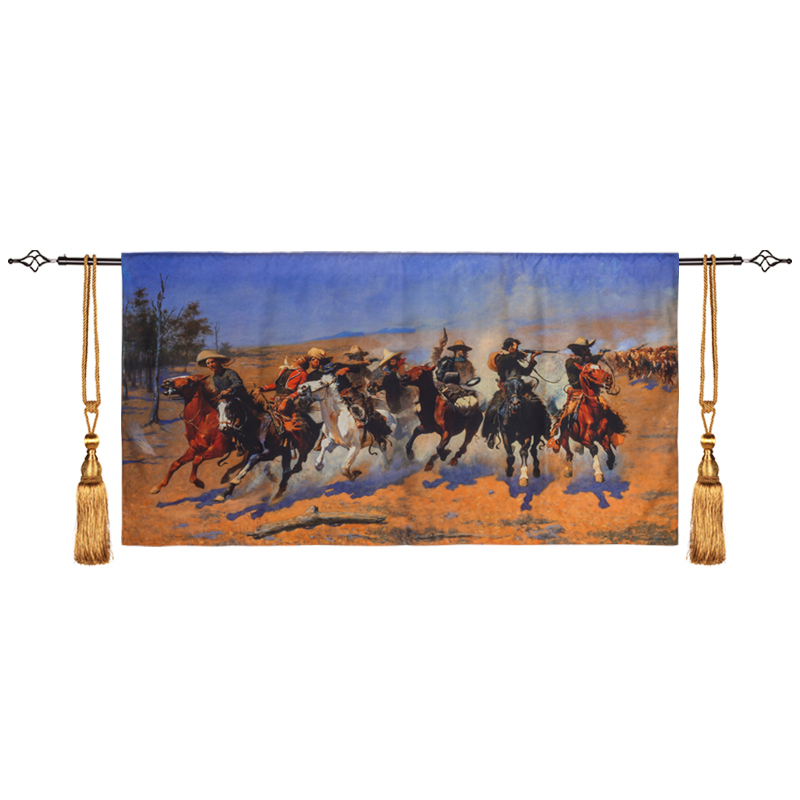 140x72 cm tapisserie murale classique tenture murale décor de ferme belgique tapis mural Boho décor à la maison tapisserie