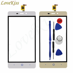 """5 """"ekran dotykowy na panelu przednim dla ZTE Blade X3 D2 T620 A452 czujnik ekranu dotykowego Digitizer wyświetlacz LCD zewnętrzna wymienna soczewka szklana w Panele dotykowe do telefonów komórkowych od Telefony komórkowe i telekomunikacja na"""