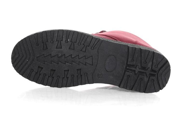 Women's High Heels Plush Winter Boots 29