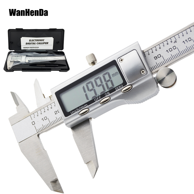 6 inch 0-150mm metal stainless steel digital caliper electronic digital vernier calipers measurement tool micrometer metal ruler6 inch 0-150mm metal stainless steel digital caliper electronic digital vernier calipers measurement tool micrometer metal ruler