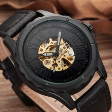 Automatic Self Winding Mens Watch Dropshipping Mechanical Skeleton Watches New Arrival Sport Luxury Brand Clock