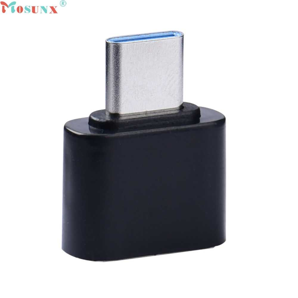 Mosunx Factory Price USB 3.1 Connector Type-C Male to USB 3.0 Female Converter Data Adapter 0306 Drop Shipping