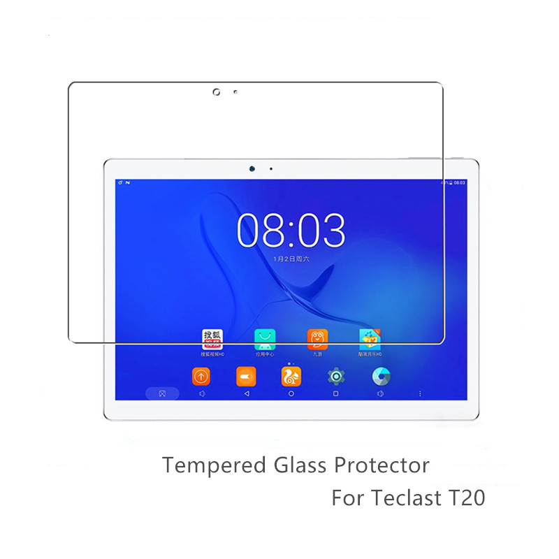 Tempered Glass Films For Teclast T20 10.1'' Screen Protector Scratch Proof For Teclast T10 Glass Protector