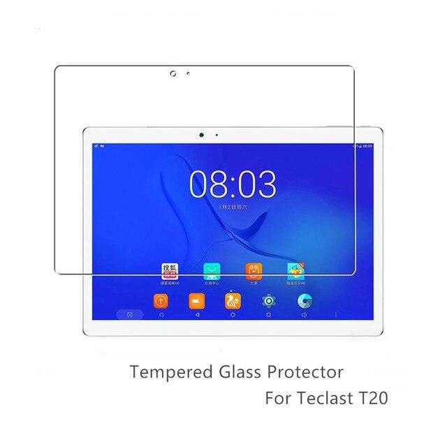 強化ガラスフィルム Teclast T20 10.1 ''スクリーンプロテクタースクラッチプルーフ Teclast T10 ガラスプロテクター