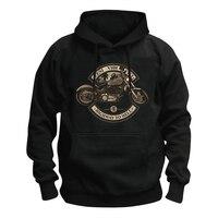 Free Shipping 2017 Fashion Sweatshirts OLD Classical Harley Motorcycle Print SWEAT HOODIE Hip Hop Streetwear Dress