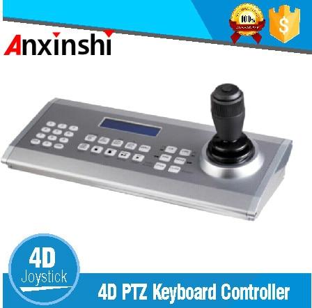 Haute Qualité USB AHD/TVI/CVI PTZ Clavier Contrôleur 4D Joystick Télécommande Vitesse De Sécurité Dôme Caméra Clavier contrôleur