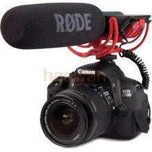 RODE VideoMic Vídeo de 3.5mm Zapato Montado escopeta de Micrófono Micrófono con rycote Lyre para canon 6d 5D3 60D nikon d800 d700 d600 cámara