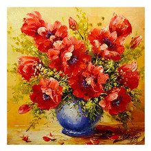 5D DIY full diamond painting flowers and embroidery rhinestone cross stitch home decoration