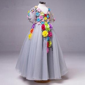 Image 3 - Vestido de princesa para niñas pequeñas, ropa de verano, informal, escolar