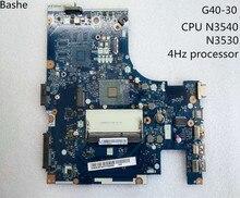 新! 送料無料aclu9/aclu0 nm   a311 G40 30ノートパソコンのマザーボードマザーボードレノボ (インテルのcpu n3540) テスト100%