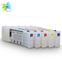 700ml refillable ink cartridge for epson, refill cartridge with ARC chip for epson surecolor t3270 printer недорго, оригинальная цена