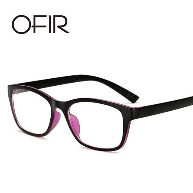 8cc9ee770c1d Online Shop OFIR Fashion Retro Men s Women s PC Optical Glasses ...