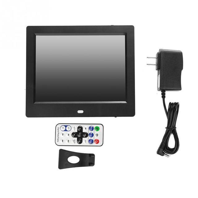 110 220V 8inch Digital Photo Frame LED Screen Digital HD Photo Frame ...