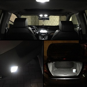 Image 5 - Safego 10pcs C5W LED COB Festoon 31mm 36mm 39mm 42/41mm Bulbs for Car License Plate Light Interior Reading Lamp DC 12V White