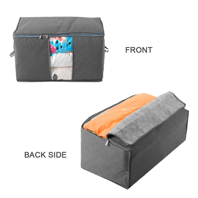₪Ttlife no tejido Telas bolsa de almacenamiento extra grande de ...